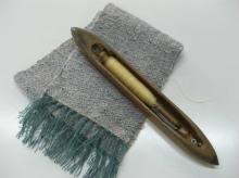 マフラー織り体験